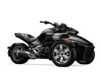 2015 Can-Am Spyder F3 SE6 motorcycle in black, M1302