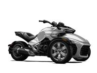 2015 Can am Spyder F3 SM6 manual trans in pearl white