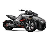 2015 Can-Am Spyder F3-S SM6 in magnesium gray ONLY