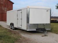 2015 RC Trailer 24'long x 8.5' wide x 7' high. Hidden