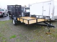 2015 Car Mate Trailers CM612A/W CM612A/W Car Mate 6x12