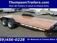 Thanks for looking at our Flatbed Car Trailer. We have