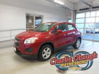 New Price! 2015 Chevrolet Trax Ruby Red Metallic LS **