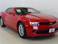 Red Hot 2015 Chevrolet Camaro 1LS RWD 6-Speed Manual