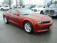 This 2015 Chevrolet Camaro LS is proudly offered by