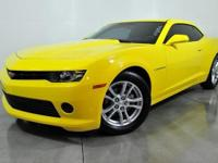 CARFAX One-Owner. Bright Yellow 2015 Chevrolet Camaro