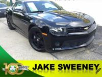Meet our GM Certified 2015 Chevrolet Camaro. This