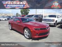 This 2015 Chevrolet Camaro 1LT... Features include: