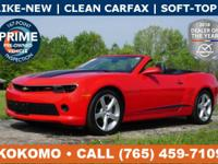 Save BIG on our Practically NEW, Low-Mileage Camaro