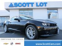 2015 Chevrolet Camaro 1LT COUPE. Certified. CARFAX