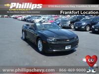 Options:  2015 Chevrolet Camaro Lt W/1Lt|Black|Get