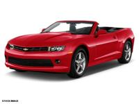 2015 Chevrolet Camaro, **ACCIDENT FREE CARFAX**,