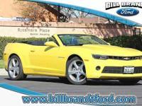 Options:  2015 Chevrolet Camaro 2Lt 2D Convertible 8