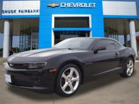 This 2015 Chevrolet Camaro LT is proudly offered by