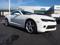 Look at this 2015 Chevrolet Camaro LT. Its Automatic