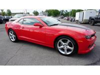 CARFAX One-Owner. Clean CARFAX. Red 2015 Chevrolet