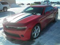 *GM CERTIFIED!*, *ONE OWNER*, and *LOCAL TRADE*. Camaro