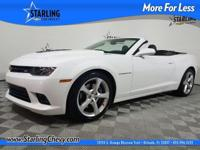 Camaro SS 2SS, GM Certified, 2D Convertible, 6.2L V8