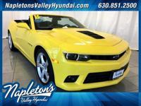 ** 2015 Chevrolet Camaro in Yellow AURORA