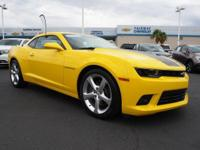 Look at this 2015 Chevrolet Camaro SS. Its Automatic
