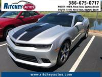 CERTIFIED PRE-OWNED CHEVY CAMARO SS**CLEAN CAR FAX**ONE