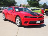 This 2015 Chevrolet Camaro SS at Century Chevrolet is
