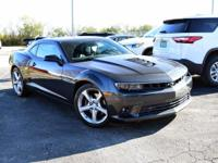 Gray 2015 Chevrolet Camaro SS 2SS RWD 6-Speed Manual