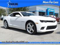 Camaro SS 2SS, 6.2L V8 SFI, 6-Speed Manual, and
