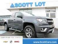 2015 Chevrolet Colorado EXTENED CAB 4X4. Certified.