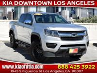 New Price! Clean CARFAX. Silver 2015 Chevrolet Colorado