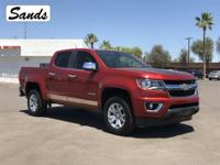 Clean CARFAX. 2015 Chevrolet Colorado LT 3.6L V6 DGI