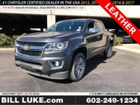 Options:  2015 Chevrolet Colorado Lt|Gray|Leather!!!