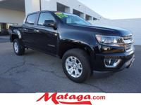 2015 Chevrolet Colorado LT in Black with Jet Black