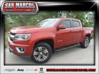 Options:  2015 Chevrolet Colorado 2Wd Lt|Maroon/|V6