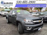 ONE OWNER, TOWING PACKAGE, 4WD! This 2015 Chevrolet