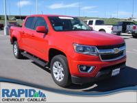 This 2015 Chevrolet Colorado 4WD LT is offered to you