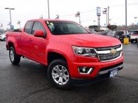 Red 2015 Chevrolet Colorado LT 4WD 6-Speed Automatic
