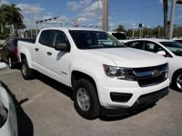 Options:  2015 Chevrolet Colorado Work