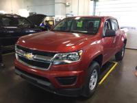GM Certified, 4D Crew Cab, 2.5L I4 DI DOHC VVT, Red