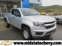 Options:  2015 Chevrolet Colorado 4Wd Wt|Silver/Jet