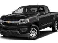 2015 Chevrolet Colorado Work Truck CARFAX One-Owner.