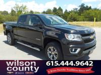 2015 Chevrolet Colorado Z71 3.6L V6 DGI DOHC VVT Black