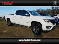 4D Crew Cab, 3.6L V6 DGI DOHC VVT, and 4WD. Hurry and