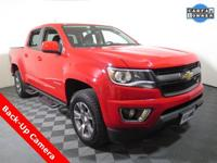 2015 Chevrolet Colorado 4X4 Z71 Crew Cab with a 3.6L V6