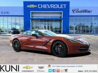 Corvette Stingray, Carbon Flash Spoilers and Mirrors,
