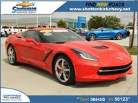 Options:  2015 Chevrolet Corvette Stingray|2Dr Coupe