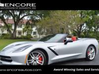 2015 CHEVROLET CORVETTE STINGRAY 3LT 2-DOOR