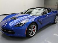 2015 Chevrolet Corvette with .2L V8 Engine,7-Speed