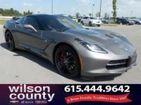 2015 Chevrolet Corvette Stingray Z51 6.2L V8 shark gray