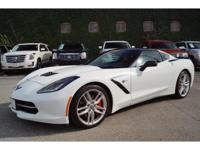 Options:  2015 Chevrolet Corvette We Recently Got In.